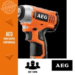 AEG BSS 12C Li Akkus ütvecsavarbehajtó