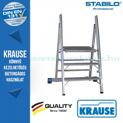 Krause Stabilo Professional profi fellépő 3 fokos