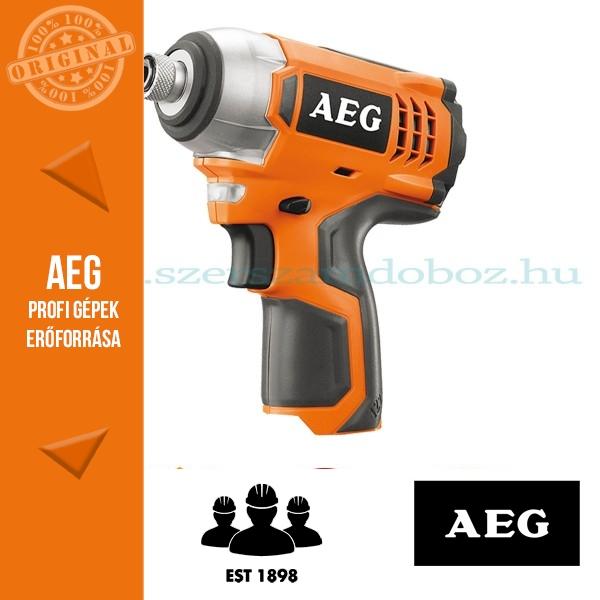 AEG BSS 12C-0 Akkus ütvecsavarbehajtó