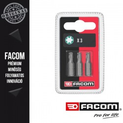 FACOM Standard csavarozó bitek, Torx, T40 x 25mm, 3db