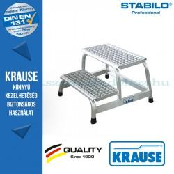 Krause Stabilo Professional szerelődobogó rácsos fokokkal 2 fokos