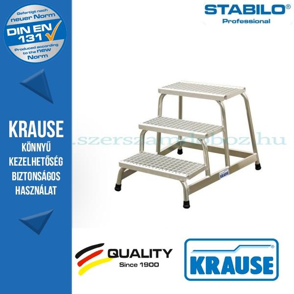 Krause Stabilo Professional szerelődobogó rácsos fokokkal 3 fokos