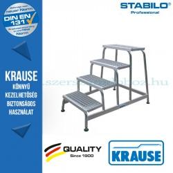 Krause Stabilo Professional szerelődobogó rácsos fokokkal 4 fokos