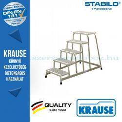 Krause Stabilo Professional szerelődobogó rácsos fokokkal 5 fokos