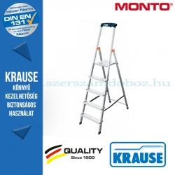 Krause Monto Safety lépcsőfokos állólétra 5 fokos