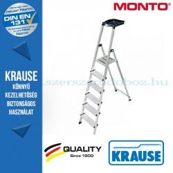Krause Monto Safety lépcsőfokos állólétra 6 fokos