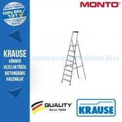 Krause Monto Safety lépcsőfokos állólétra 8 fokos