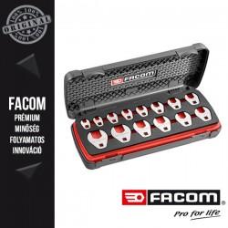 """FACOM CROWFOOT Nyitott végű lapos csavaranya kulcs készlet, 3/8"""", 14db-os"""