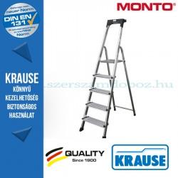 Krause Monto Secury lépcsőfokos állólétra 5 fokos
