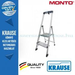 Krause Monto Safepro lépcsőfokos állólétra 2 fokos
