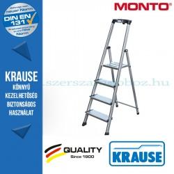 Krause Monto Sepuro lépcsőfokos állólétra 4 fokos