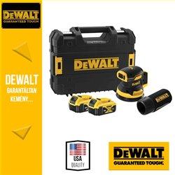 #DEWALT DCW210P2-QW 18V excentercsiszoló akkuval