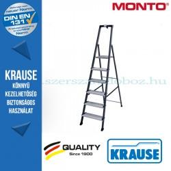Krause Monto Securo lépcsőfokos állólétra, eloxált 6 fokos