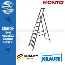 Krause Monto Securo lépcsőfokos állólétra, eloxált 8 fokos
