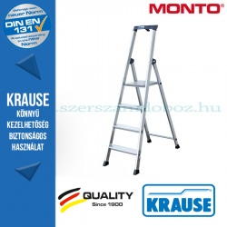 Krause Monto Solido lépcsőfokos állólétra 4 fokos