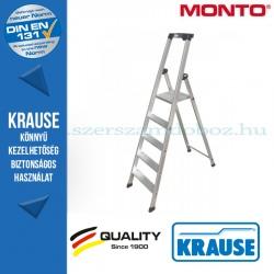 Krause Monto Solido lépcsőfokos állólétra 5 fokos