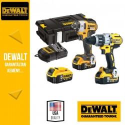 DeWalt DCK276P3-QW 18V Akkus gépcsomag (ütvefúró-csavarozó+ütvecsavarozó)