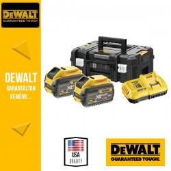 DeWalt DCB118Y2T-QW 18V/54V XR FLEXVOLT Akku csomag 2x12,0Ah akkuval TSAK kofferben