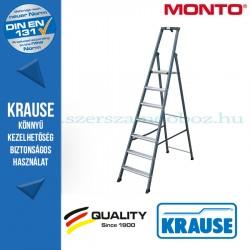 Krause Monto SePro S lépcsőfokos állólétra, eloxált 7 fokos