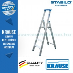 Krause Stabilo Professional lépcsőfokos állólétra 4 fokos
