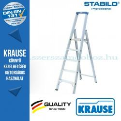 Krause Stabilo Professional lépcsőfokos állólétra 5 fokos