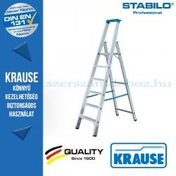 Krause Stabilo Professional lépcsőfokos állólétra 6 fokos