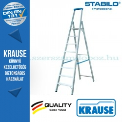 Krause Stabilo Professional lépcsőfokos állólétra 8 fokos