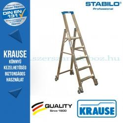 Krause Stabilo Professional gurítható lépcsőfokos állólétra 5 fokos