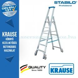 Krause Stabilo Professional gurítható lépcsőfokos állólétra 6 fokos