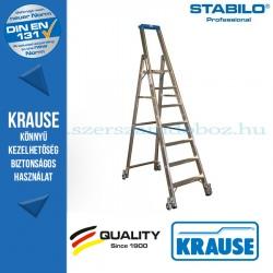 Krause Stabilo Professional gurítható lépcsőfokos állólétra 7 fokos