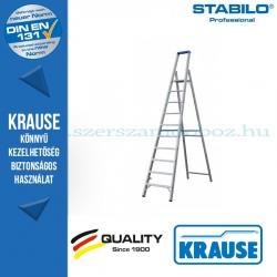 Krause Stabilo Professional gurítható lépcsőfokos állólétra 10 fokos