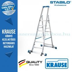 Krause Stabilo Professional gurítható lépcsőfokos állólétra kitámasztóval 6 fokos