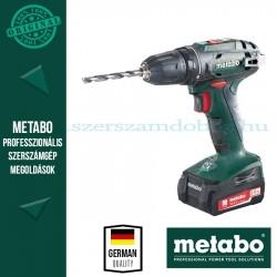 Metabo BS 14,4 Fúró-csavarbehajtó 2x 2,0Ah