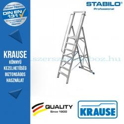 Krause Stabilo Professional lépcsőfokos állólétra nagy dobogóval 7 fokos