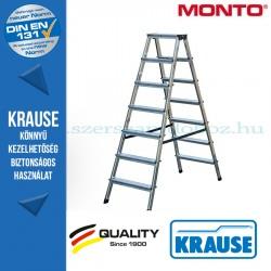 Krause Monto lépcsőfokos két oldalon járható létra Dopplo 2x7 fokos