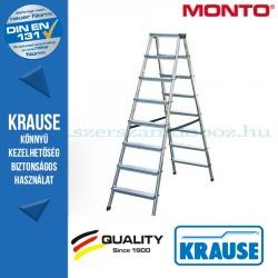 Krause Monto lépcsőfokos két oldalon járható létra Dopplo 2x8 fokos