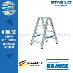 Krause Stabilo Professional lépcsőfokos két oldalon járható létra 2x4 fokos