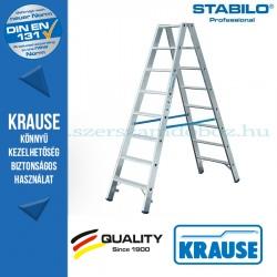 Krause Stabilo Professional lépcsőfokos két oldalon járható létra 2x8  fokos