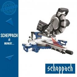 Scheppach HM 216 SPX Gérvágó fűrész húzófunkcióval és lézerrel