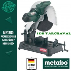 Metabo CS 23-355 Gyorsdaraboló-fémvágó +1db vágótárcsa