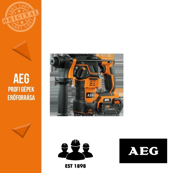 AEG BBH 18 LI-302C Akkus fúrókalapács