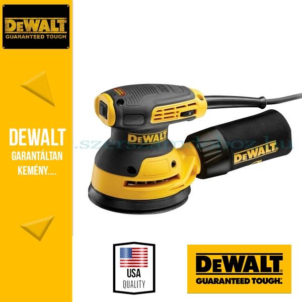 DeWalt DWE6423-QS Excentercsiszoló