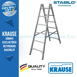 Krause Stabilo Professional két oldalon járható biztonsági állólétra 2x6 fokos