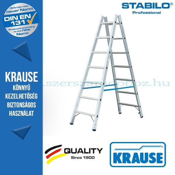 Krause Stabilo Professional két oldalon járható biztonsági állólétra 2x7 fokos