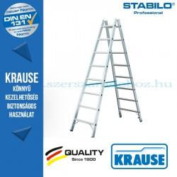 Krause Stabilo Professional két oldalon járható biztonsági állólétra 2x8 fokos