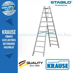 Krause Stabilo Professional két oldalon járható biztonsági állólétra 2x10 fokos