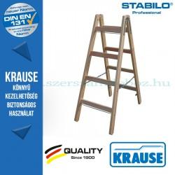 Krause Stabilo Professional két oldalon járható fa állólétra 2x4 fokos