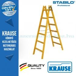 Krause Stabilo Professional két oldalon járható fa állólétra 2x6 fokos