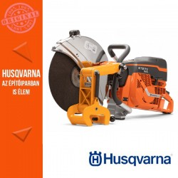 Husqvarna K 1270 RAIL benzinmotoros sínvágó gép, Ø 400 mm + RA 10 sínvágó feltét