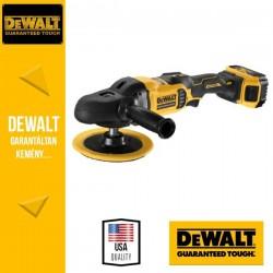 DeWalt DCM849P2-QW 18V Akkus polírozógép 2 x 5,0 Ah akkuval és töltővel